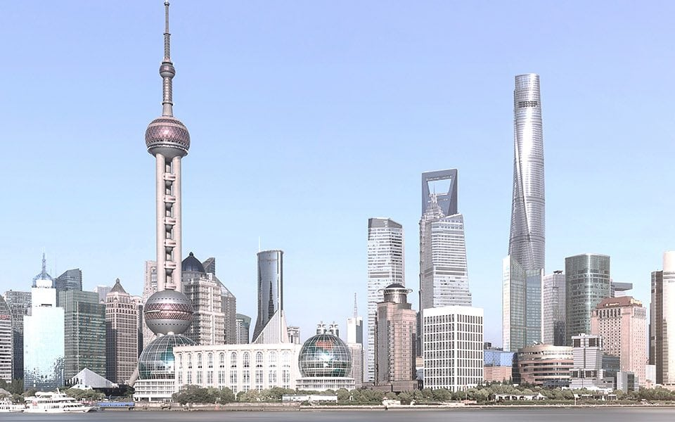 Route2China - Neue Partnerschaft mit der FFHS - Studienreise - Shanghai Skyline